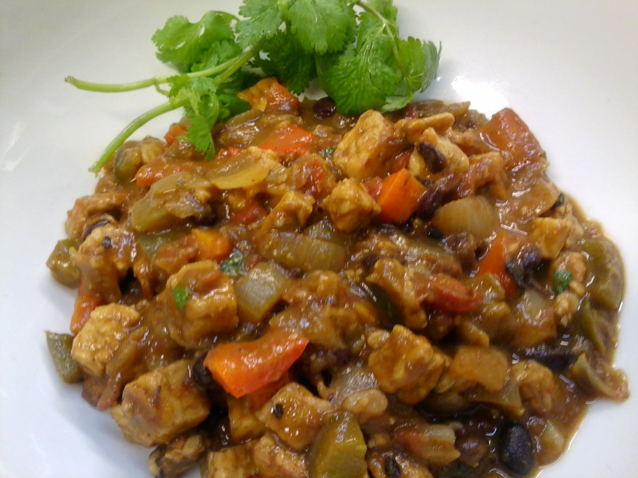 Hearty Vegan Tempeh Chili