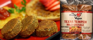 Hearty Vegan: Mild Tempeh Sausage